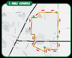 Map Of Green Bay Wisconsin by Festival Foods Turkey Trot Race Locations