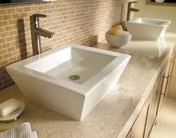 Sink Bowl On Top Of Vanity Decolav Home And Hospitality Bathroom Sinks Bathroom Vanities