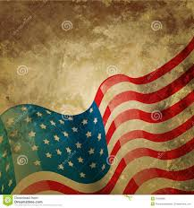 Vintage Flag Art Vintage American Flag Stock Vector Image Of Fourth Holiday