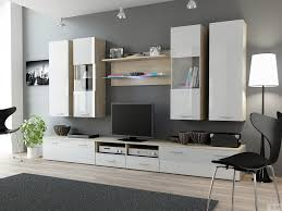modern wall unit u2013 glass wall units for dining room entertainment
