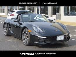 porsche boxster 2016 interior used porsche boxster at porsche monmouth serving new jersey