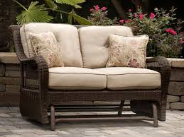 pinehurst patio loveseat glider 742 99 patio furniture