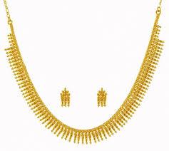 kerala style earrings 22k gold mullamottu mala ajns59254 22k gold kerala style