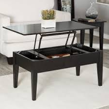 black coffee table with storage coffee table with storage hayneedle