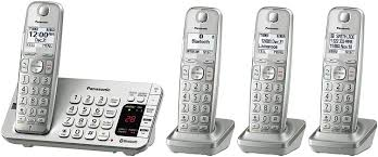 kx tge474s link2cell bluetooth cordless phone with answering machine