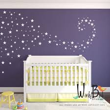 baby nursery decals star confetti wall stickers for zoom