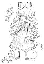 black pudding chibi commission sketch by yampuff on deviantart