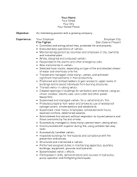 Fire Department Resume Fire Department Resume Free Resume Example And Writing Download
