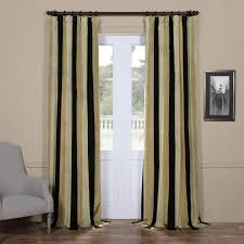buy sake faux silk taffeta stripe curtains and drapes