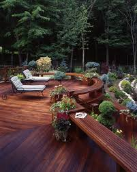 Deck Garden Ideas 20 Landscaping Deck Design Ideas For Small Backyards Style