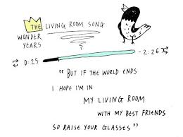 living room song living room song the wonder years always remember