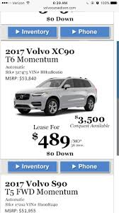 lexus lease deals md 2017 volvo xc90 lease deals and prices page 27 u2014 car forums at
