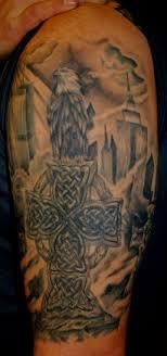 Celtic Cross Half - celtic tattoos and designs page 448