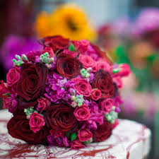 wedding flowers inc hot pink wedding bouquet ideas bernardo s flowers inc