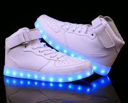 high top light up shoes light up shoes white high top light up revolution