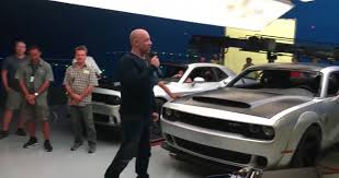 fast and furious 8 cars fast 8 promo video accidentally leaks badass dodge demon