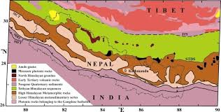 frontal boundary map discourse on seismotectonics of nepal himalaya and vicinity