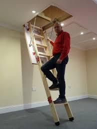 grand wooden loft ladder loft ladders bps access solutions