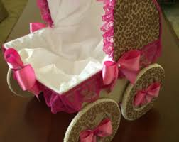 the avery 14 inch baby carriage centerpiece