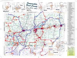 Maps Wisconsin by Trail Maps Rusk County Wisconsin