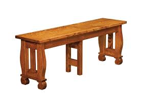 amish furniture hand crafted solid wood benches amish traditions