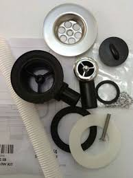 Kitchen Sink Spares Waste Kit Mm Waste Outlet Taps And Sinks Online - Kitchen sink waste kit