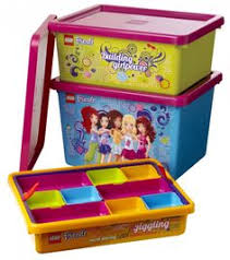 Lego Storage Containers Amazon - lego friends sorting system for storage lime green lego http