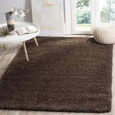 safavieh california cozy plush brown shag rug 8 u0027 x 10 u0027 free