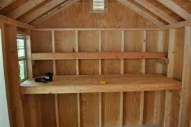 Basement Storage Shelves Woodworking Plans by How To Build Shed Storage Shelves One Project Closer Household