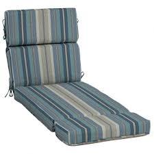 Patio Chair Cushions Sunbrella Chaise Stripe Standard Patio Chair Cushion For Chaise Lounge
