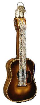 world ornaments guitar 38010