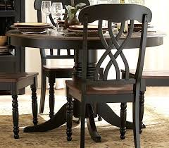 Round Kitchen Tables And Chairs Sets by Black Pedestal Dining Table U2013 Rhawker Design