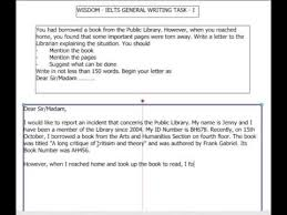 1 1 ielts general writing task 1 youtube