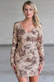 gold party dress gold and bronze sequin sheath dress gold new years dress