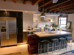 Kitchen With Bar Table - kitchen marvelous contemporary kitchen decor using small island