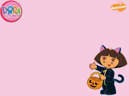 halloween pink background halloween dora wallpaper at wallpaperist