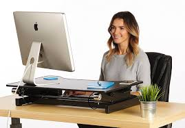 amazon com standing desk adjustable height sit stand up desktop