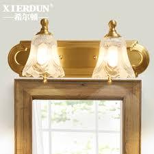 European Bathroom Lighting Usd 271 67 American Mirror Front Lamp All Copper European