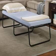 Portable Folding Bed Folding Bed Memory Foam Mattress Fold Away Guest Portable Sleeper