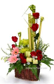 mail flowers modern roses arrangements flowers