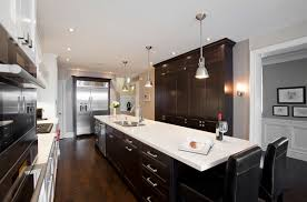 black cabinets white countertops 22 beautiful kitchen colors with dark cabinets home design lover