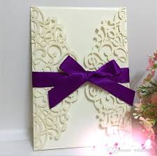 wedding invites invitation business card blue laser cut