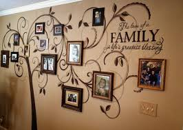 30 family picture frame wall ideas family tree mural family