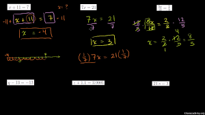 one step addition subtraction equations fractions decimals practice khan academy
