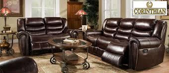 Corinthian Sofa Corinthian Leather Sofa Corinthian 655 Motion Group Recline Sofa
