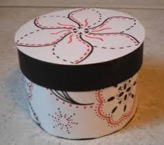 how to make a pretty round box 5 steps