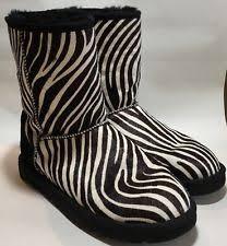 ugg zebra boots sale zebra print boots ebay