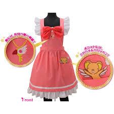 sakura costume style apron