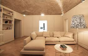 Living Room Wainscoting Architecture Living Room Rustic Private Residence In Gubbio Italy