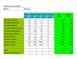 Goals And Objectives Template Excel Goal Tracking Template Temp Taskanalysis Word 0 Jpg Free